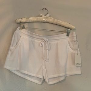 White P.J. salvage shorts